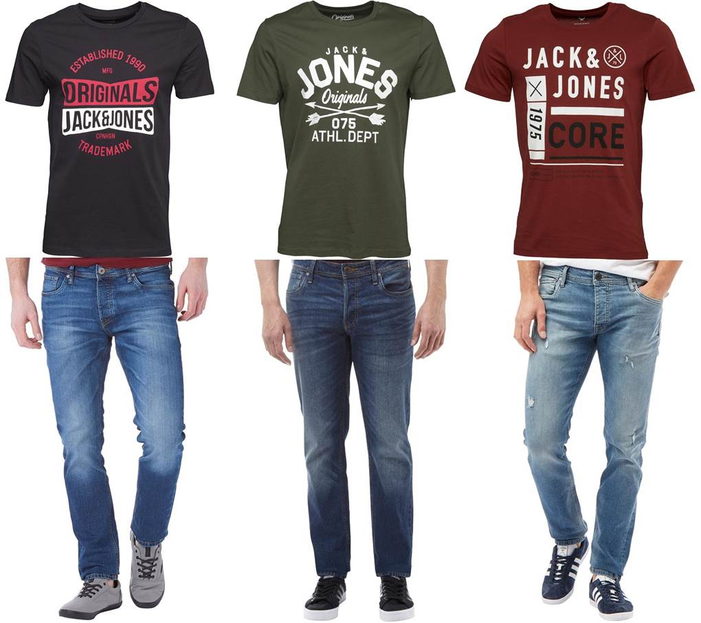 Jack and Jones Only Sons farmernadrag mix 54901